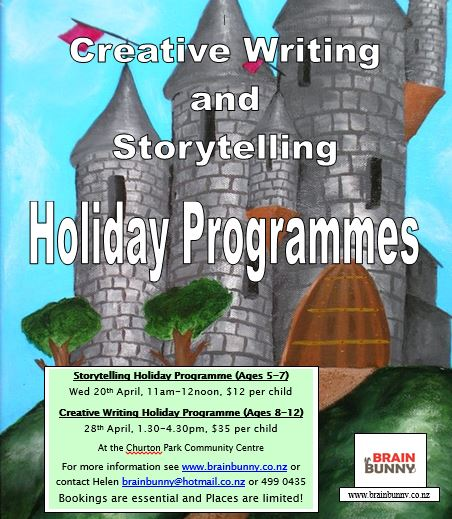 Storytelling and Creative Writing Holiday Programmes
