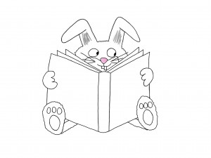 Drawing of bunny